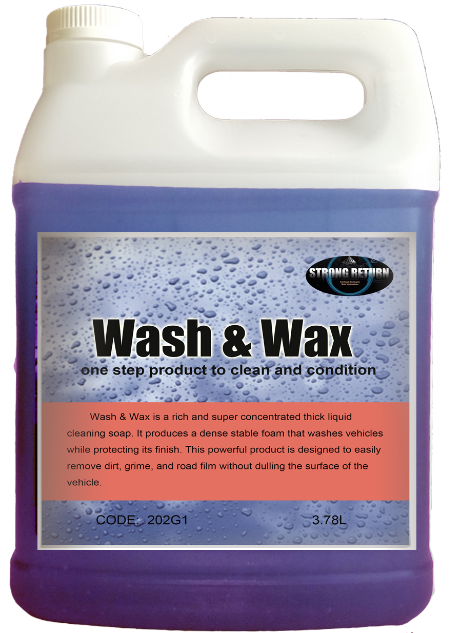 202  WASH AND WAX